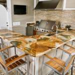 Marble Outdoor Kitchen Countertop