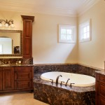 Marble Vanity with Bathtub Casing by ADP Surfaces in Orlando Florida