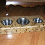 Granite Cat Dish by ADP Surfaces in Orlando Florida