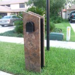 Granite Mail Box by ADP Surfaces in Orlando Florida