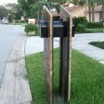 Unique Granite Applications | Granite Mail Box Orlando Florida