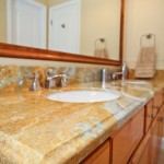 onyx vanity with ogee edge and undermount sink (undermount) by ADP Surfaces in Orlando Florida