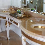 Onyx Bathroom Countertop by ADP Surfaces in Orlando Florida