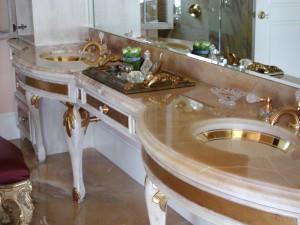 Onyx Bathroom Countertop by ADP Surfaces in Orlando Florida