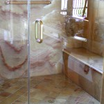 Custom-Granite-Shower by ADP Surfaces in Orlando Florida
