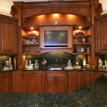 Kitchen Countertop Orlando, Granite Kitchen Countertop with Full Backsplash by ADP Surfaces in Orlando Florida