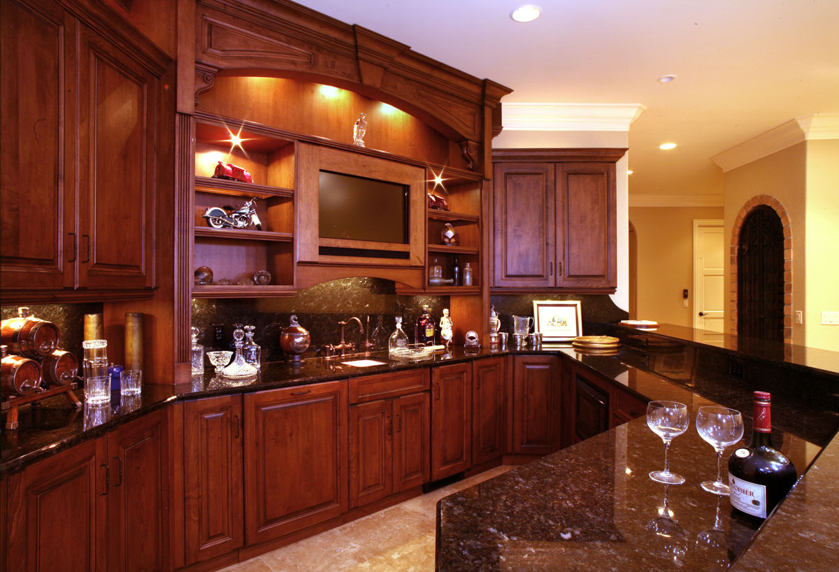 Colors for kitchen cabinets and countertops for Granite colors for black cabinets
