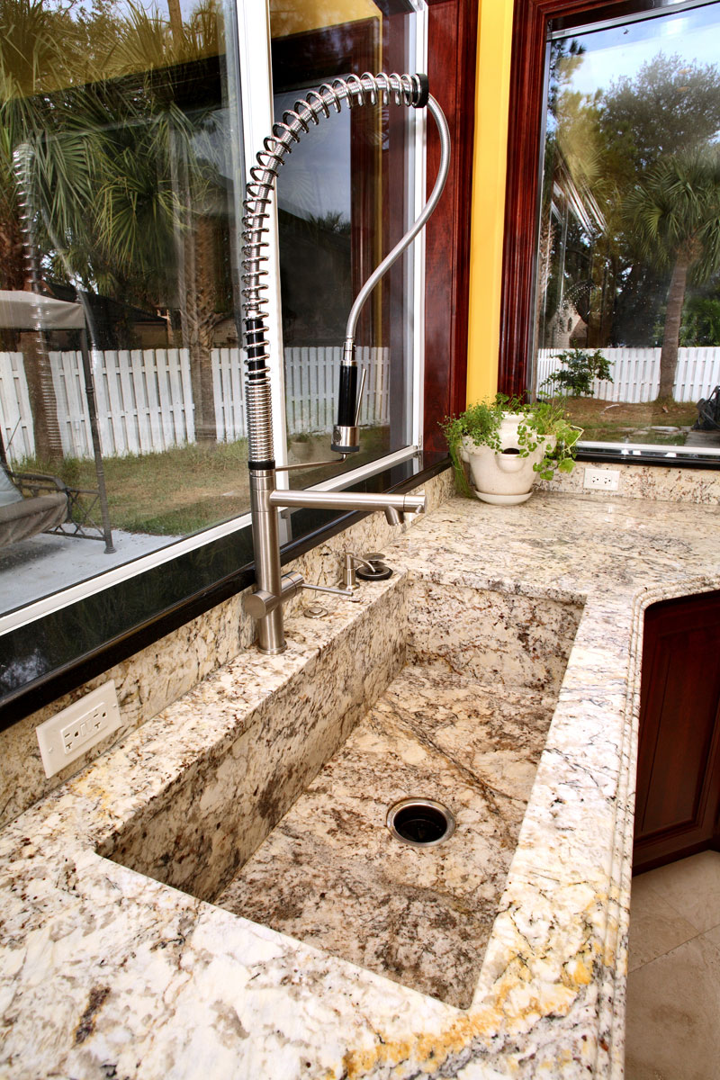 Popular Granite Countertop Configurations Orlando: Kitchen Countertop Ideas Orlando