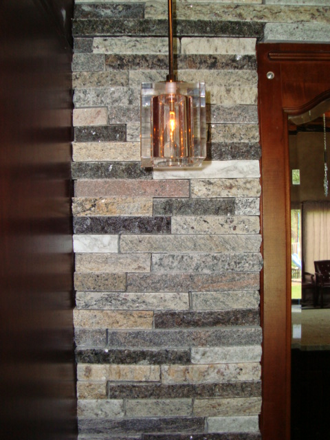wallstone tiles in basement bar by adp surfaces in orlando florida
