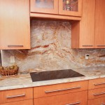 Popular Granite Countertop, full backsplash, Kitchen countertop, Granite countertop