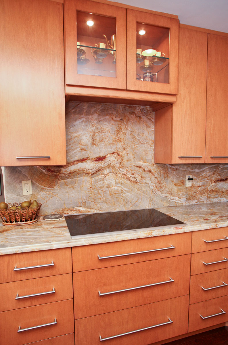 Granite countertops most popular favorite - Full Backsplash Kitchen Countertop Granite Countertop
