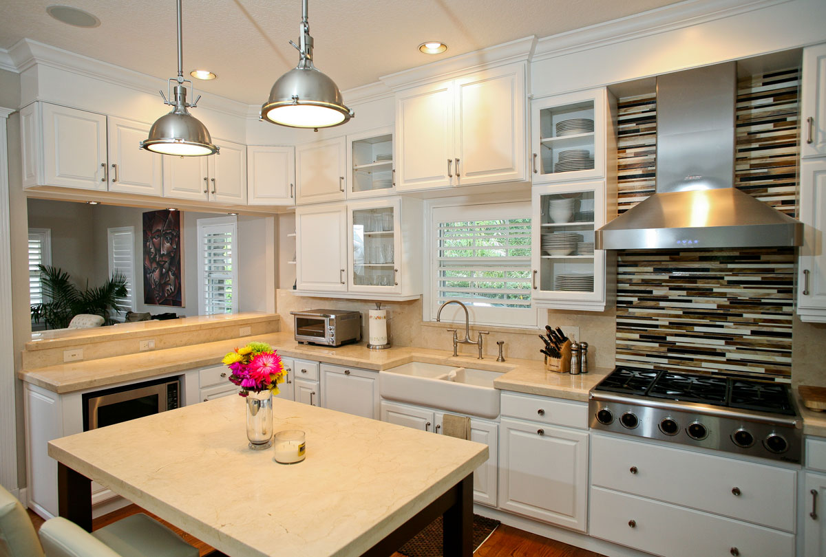 How to Select Countertops That Match Cabinets
