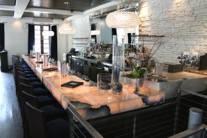Commercial Onyx Bar Countertop Translucent by ADP Surfaces in Orlando Florida