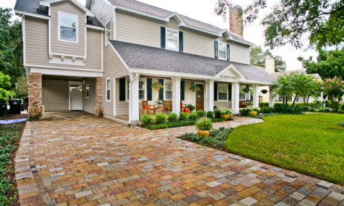 Recycled Granite Pavers by ADP Surfaces in Orlando Florida