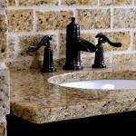 Orlando Granite Vanity with eased edge and undermount sink by ADP Surfaces in Orlando Florida