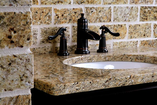 Bathroom Vanity Orlando custom granite countertops | adp surfaces