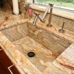 Farmhouse Granite Sink by ADP Surfaces in Orlando Florida