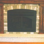 Granite Fireplace featured in Central Florida Builders magazine in 2002. by ADP Surfaces in Orlando Florida