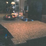 Granite Kitchen Countertop Featured in Central Florida Builder Magazine in 2002 by ADP Surfaces in Orlando Florida