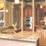 Granite Kitchen Countertop Featured in Central Florida Builder Magazine in 2002. by ADP Surfaces in Orlando Florida