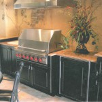 Orlando Granite Outdoor Kitchen Countertop Featured in Central Florida Builder Magazine by ADP Surfaces in Orlando Florida