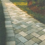 Recycled Granite Pavers featured in Central Florida Builder Magazine in 2002 by ADP Surfaces in Orlando Florida