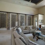 Orlando home decoration of a Living Room. by ADP Surfaces in Orlando Florida