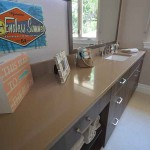 Orlando Corian Bathroom Countertop by ADP Surfaces in Orlando Florida