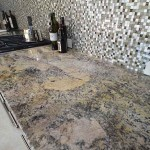 Orlando Granite Kitchen Counterop with Tile Backsplash by ADP Surfaces in Orlando Florida