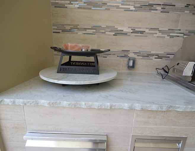 Orlando Granite Outdoor Kitchen Countertop By ADP Surfaces In Orlando  Florida