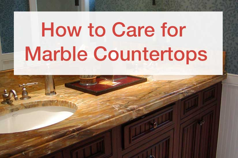 Care For Marble Countertops Impressive How To Clean Marble