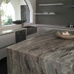 Granite Kitchen Table and Island Countertop