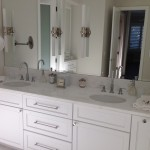 White rhino marble vanity countertop #1 by ADP Surfaces in Orlando Florida
