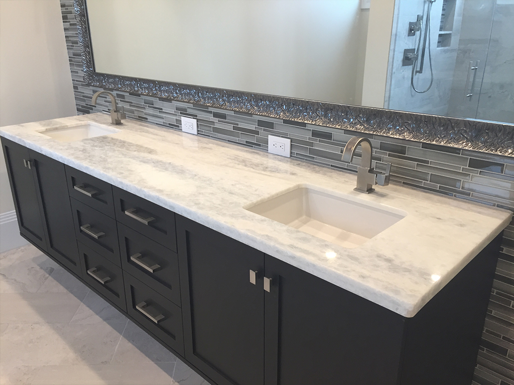 Countertop gallery for Double sink countertop bathroom