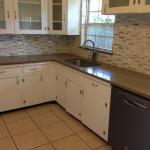 Brown Kitchen Countertop
