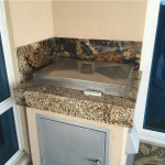 outdoor kitchen countertop at ADP Surfaces in Orlando Florida