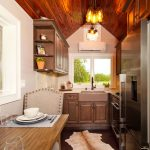 Tiny Home Kitchen Quartz Countertops - Photo Credit credit Anna Yanev Photography